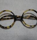 戦前 鼈甲製 丸眼鏡