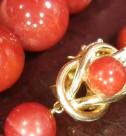 天然赤珊瑚 ネックレス