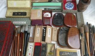 書道具、着物など