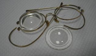 18金 眼鏡