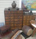 小引き出しなど古家具 和太鼓