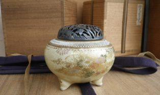 薩摩香炉、茶道具類