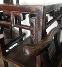 中国家具 官帽椅子と花台