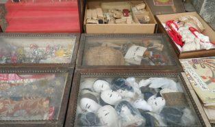 作家物日本人形