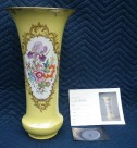 MEISSEN/マイセン 金彩六つ花柄花瓶