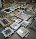 油絵、版画、水彩画、鉛筆画などの絵画