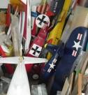 ラジコン飛行機のコレクション