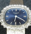 PATEK PHILIPPE K18WG/ダイヤベゼル  婦人用腕時計