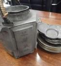 錫製品 茶入れ、茶卓など