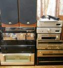 趣味のオーディオ機器