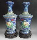 七宝焼きの花瓶、油絵ほか