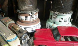 パーフェクション石油ストーブ ブリキのおもちゃ